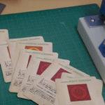 秋葉原製作所でカードを制作