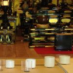 お寺でクリスタルボウル